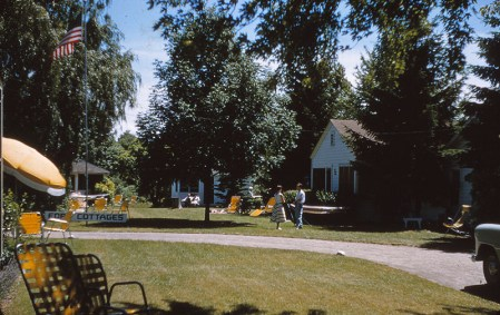 Ford Cottages in the 1950s.