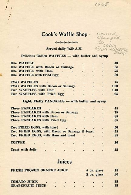 1955 menu 1