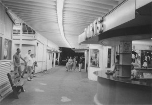 An undated interior view of the Midway. Jack Sargent Collection.