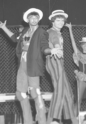 """Godspell"" performers. Ashtabula Star Beacon newspaper archives."