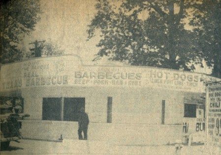 The Bozells renovated the stand and opened it for the Memorial Day weekend in 1955.