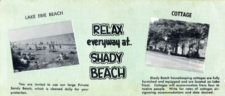 shady beach end
