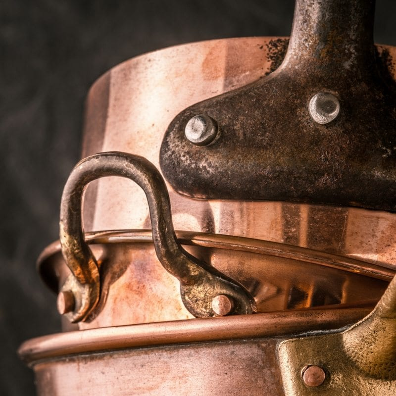 copper , kitchen, cooking, cookware, home, trends