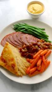 ham, dinner, easter, catering, holiday, holiday meal, cooking, family style, homestyle, pre-order
