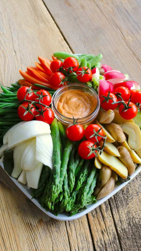 crudite, france, French, vegetables, dip, entertaining, summer, catering