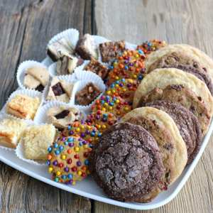 cookies, squares, pastry, home cooked, house made, pastry, catering, coffee and tea