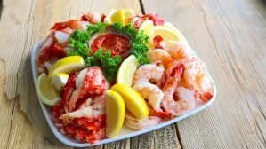 signature, seafood, lobster, crab, platter, easy, entertaining, catering, dip