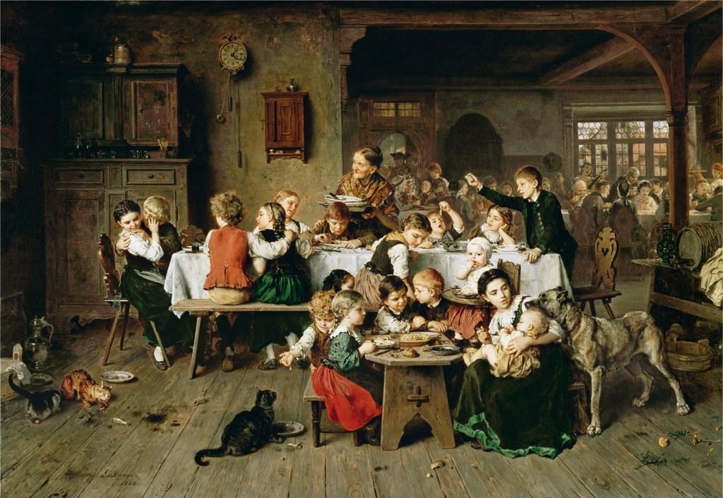 Ludwig Knaus, Ein Kinderfest_(1868)