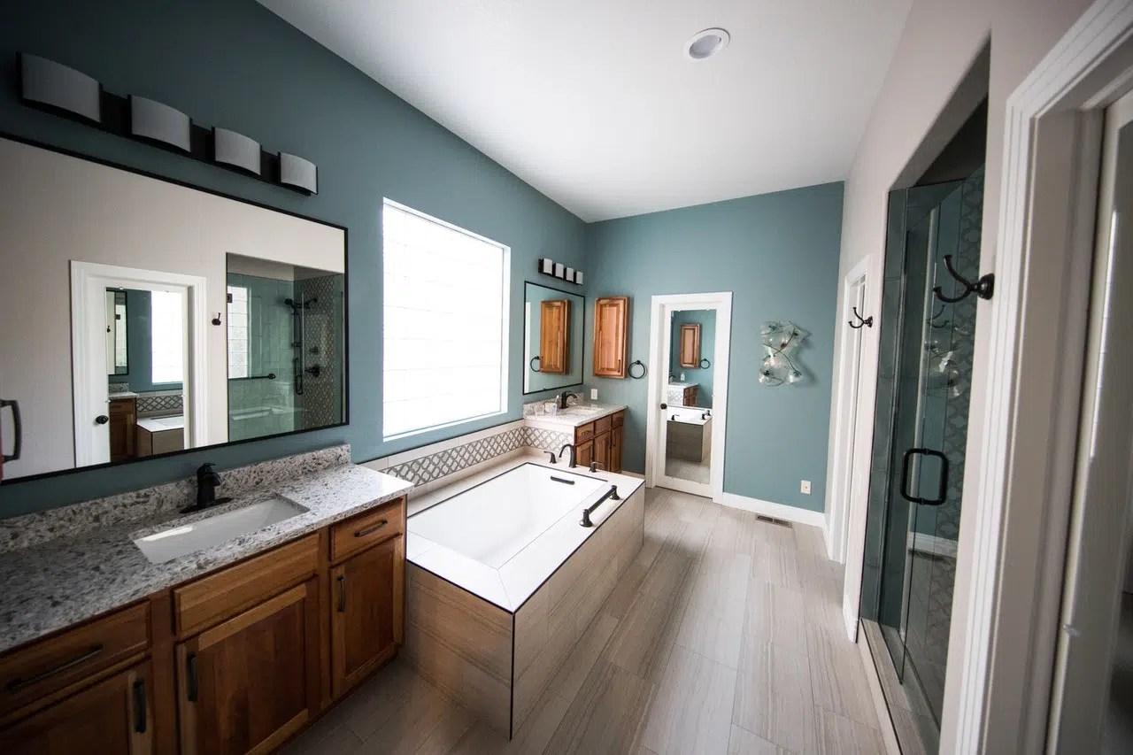 single sink vs double sink bathroom