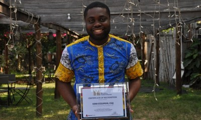 Kow Essuman Receives 2017 Most Influential Young Ghanaian Award