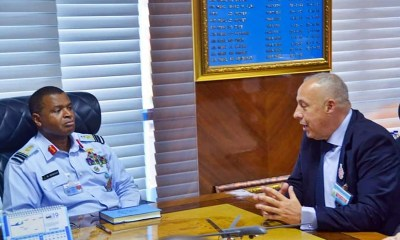 L-R: Chief of the Air Staff, Air Marshal Sadique Abubakar and President Airbus Africa & Middle East, Mr Mikail Houari