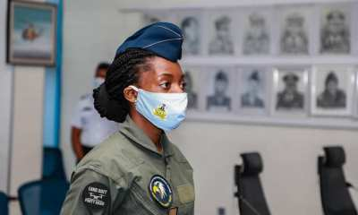 Flying Officer Chinelo Nwokoye, Nigerian Air Force Female Combat Helicopter Pilot