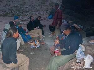 Muleteers on Aconcagua