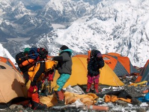 South Col on Everest