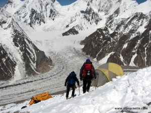 Camp 2 on Broad Peak