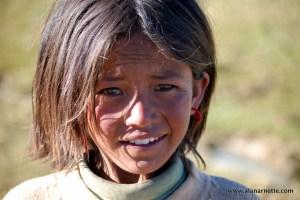 Yak Herder daughter at Shishapangma