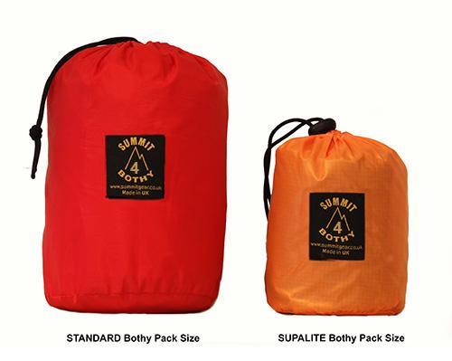 supalite bothy bag 4 comparison