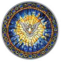 Dove of the Holy Spirit by Tiffany
