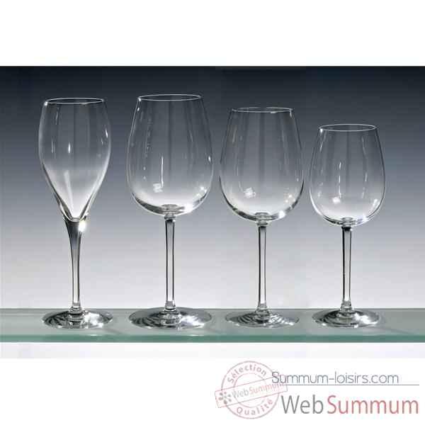 chef sommelier lot de 4 verres a vin blanc 28 cm oenologue dans verrerie loisirs