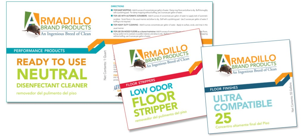 Armadillo Group Package Design