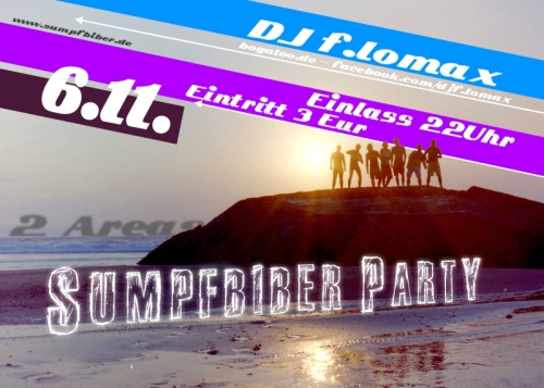 Sumpfbiber Party 2010 - Am 6.11.10
