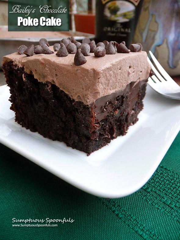 Bailey S Chocolate Poke Cake Sumptuous Spoonfuls