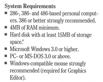 SPSS system requirements