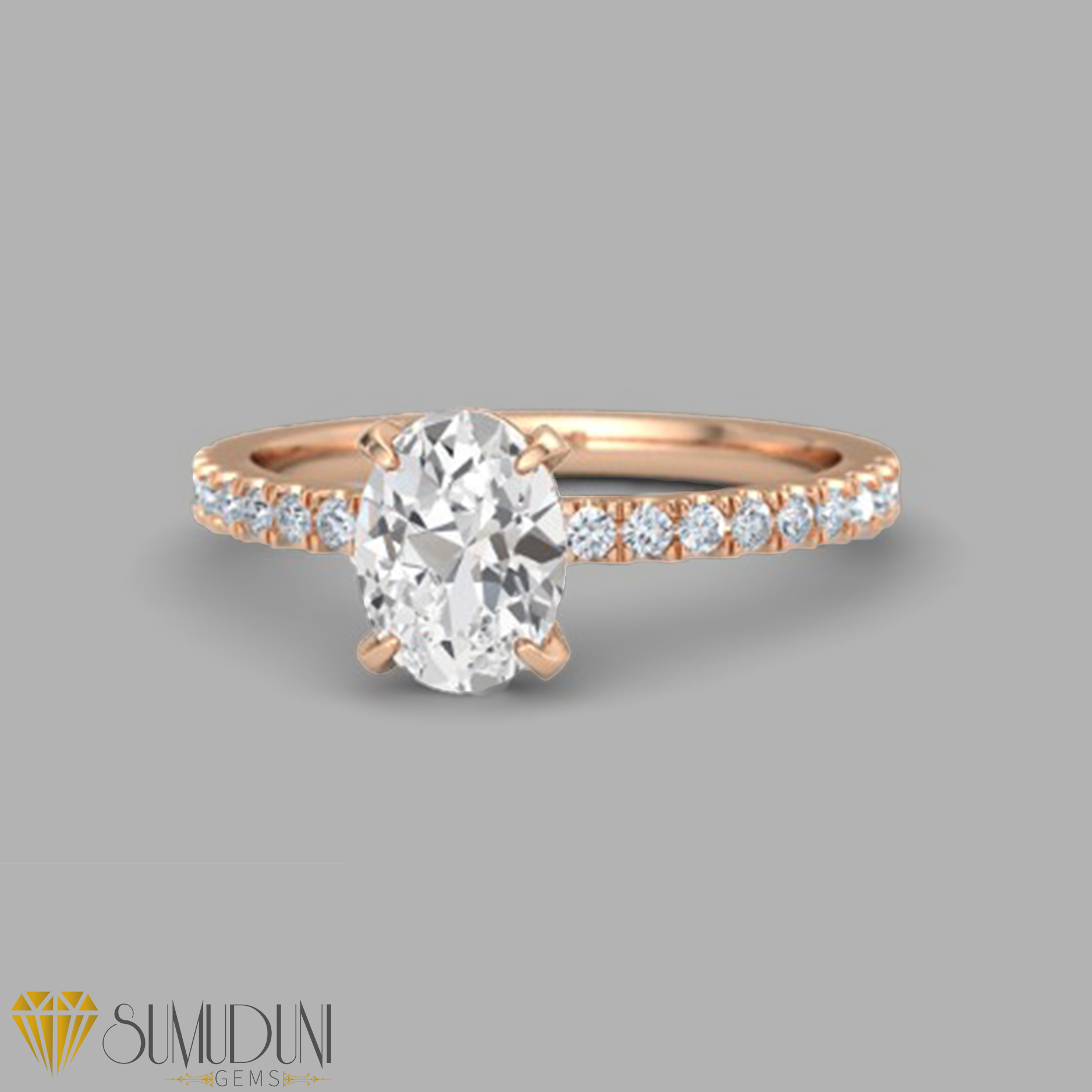 2 Carat White Sapphire Engagement Ring In Rose Gold,Modern White Kitchen Cabinets With Grey Countertops