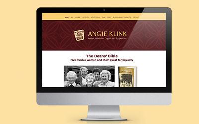 Angie Klink Website