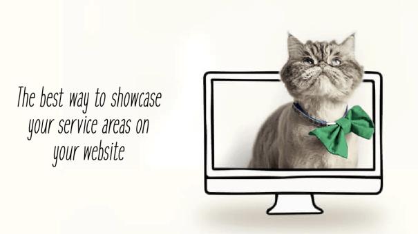 Service Areas on Website