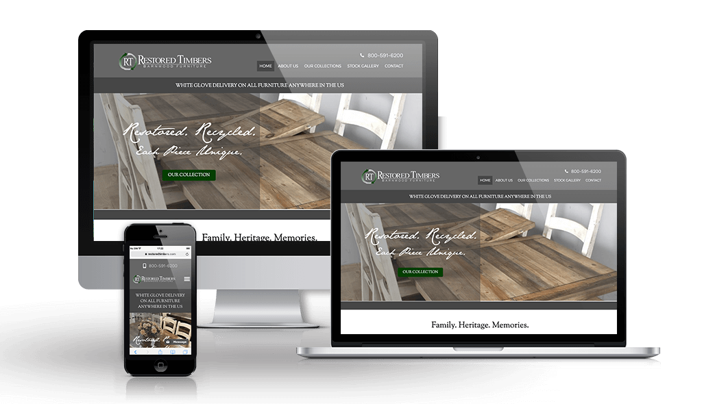 Restored Timbers Website