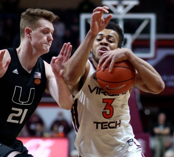 Miami Hurricanes get 27 from Isaiah Wong, outlast Virginia Tech in triple overtime