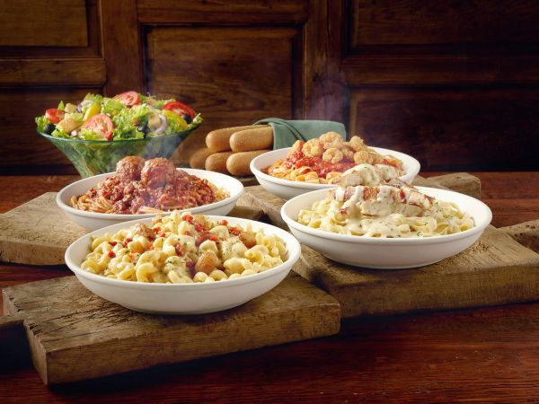 National Pasta Day: Text to get free Never Ending Pasta Bowls at Olive Garden today