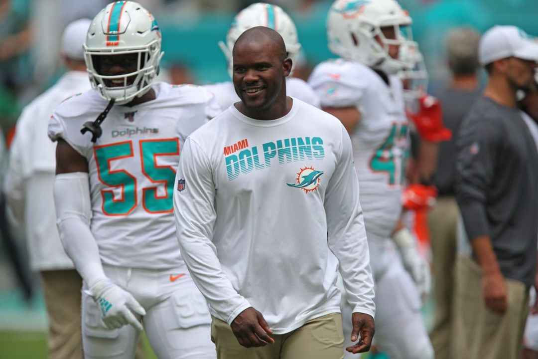 Brian Flores coming into his own as he enters second year as Miami Dolphins  coach - South Florida Sun Sentinel - South Florida Sun-Sentinel
