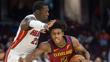 Heat again build big lead, hold off Cavs 108-97 to move to 8-3
