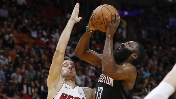 Kendrick Nunn sizzles to 40 points, but Heat fall to Harden, Rockets