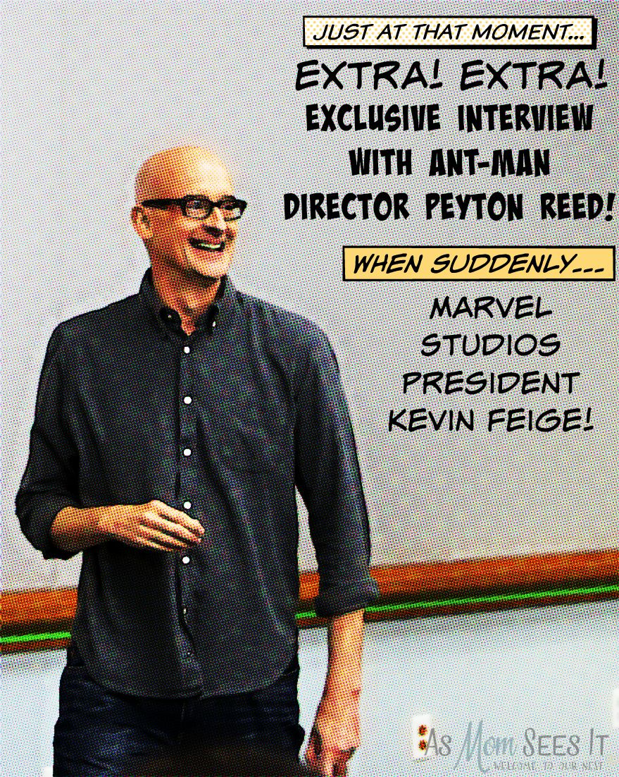 EXCLUSIVE Interview With Ant-Man Director Peyton Reed and Marvel Studios President Kevin Feige #AntManEvent
