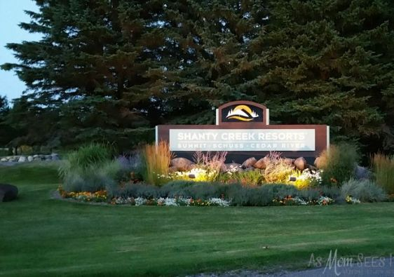 Shanty Creek welcome sign