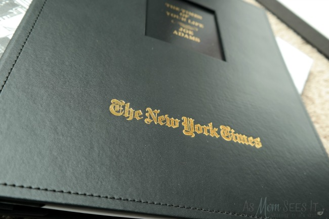 New York Times gives history as a gift