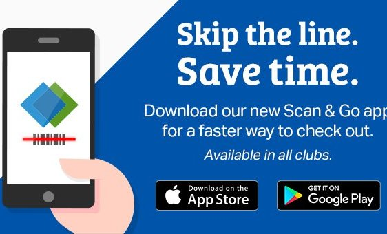 Scan-and-Go at Sam's Club