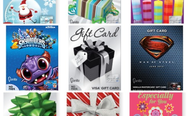 Christmas Miracle! Your Answer To The Perfect Last Minute Gift: Vanilla Gift Cards
