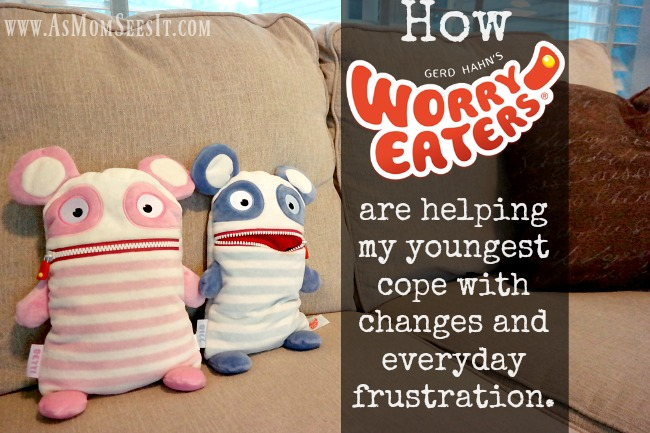 Worry Eaters is like cuddly therapy for younger kids