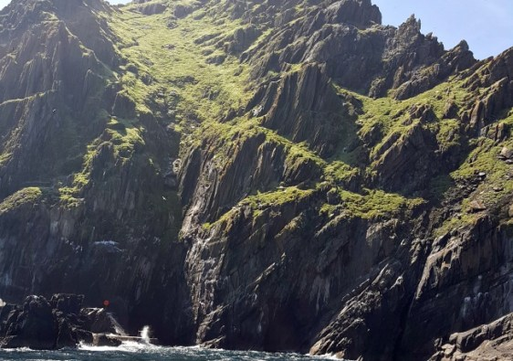 Ahch-To in Star Wars films is a real place called Skellig Michael