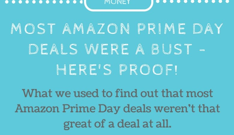 How we found out that many Amazon Prime Day Deals were a total bust