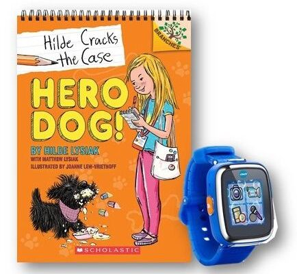 What's Your 10-Year-Old Up To? This One Wrote A Book! Meet Hilde And Hero Dog From Scholastic