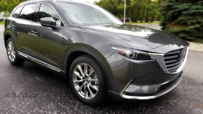 The Maxda CX9 is competitively priced among 3rd row SUVs.