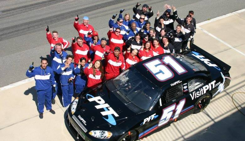 Training as part of a NASCAR Pit Crew