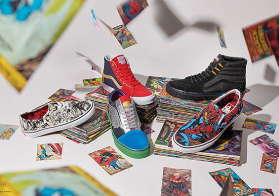 Vans x Marvel Collection will have comic book fans foaming at the mouth