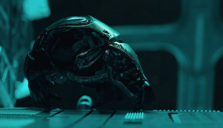 "In the new trailer for Avengers"" End Game, we see Iron Man's broken helmet"