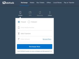 mobikwik offer free cash money